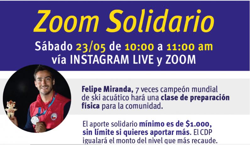 Ayudemos a Fundamor con Zoom Deportivo junto al campeón Felipe Miranda