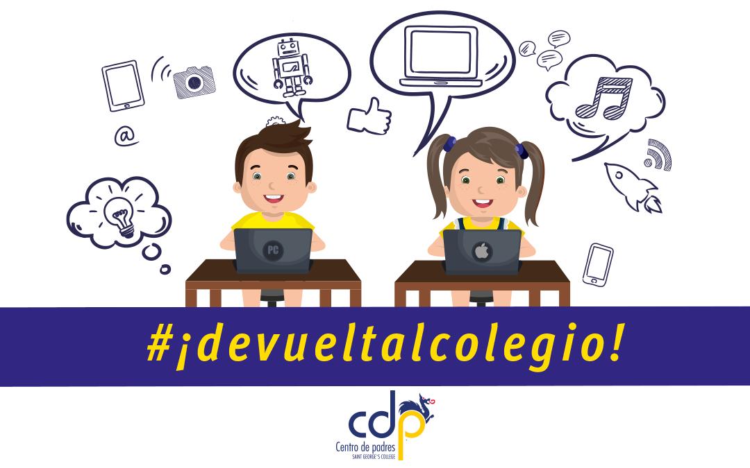 #¡Devueltalcolegio!, consejos del CDP para apoyar la educación a distancia