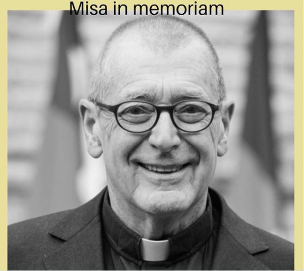 Misa in memoriam del padre Robert Simon CSC