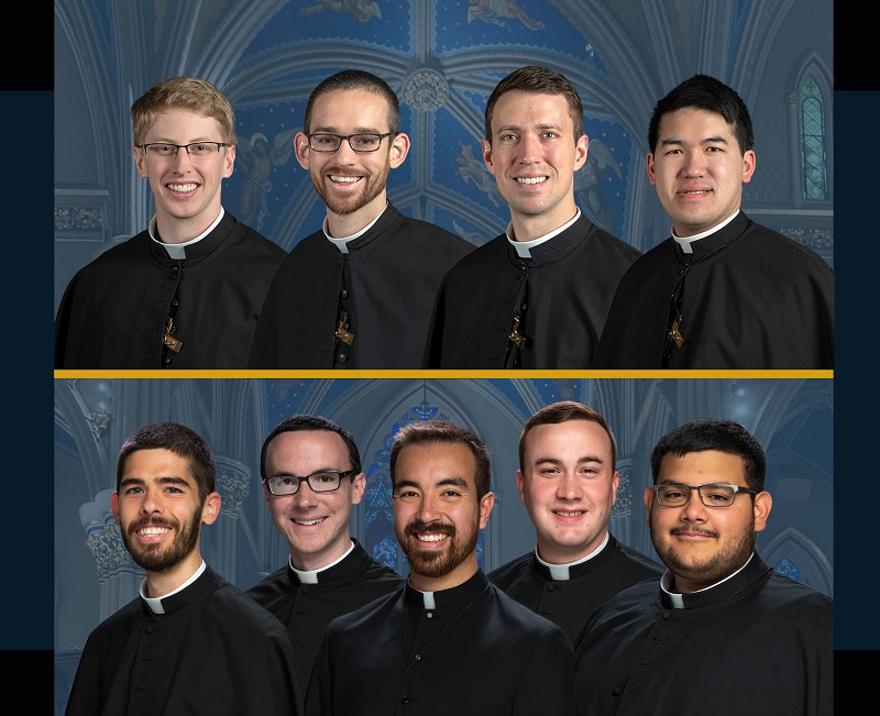 Five Profess Final Vows & Four Ordained Priests in Holy Cross
