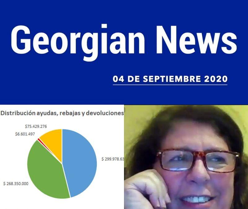 Entérate de las Georgian News del 4 de septiembre