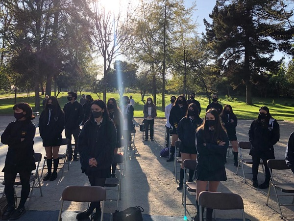 Galería de fotos de misas cursos 12 C y 12 D