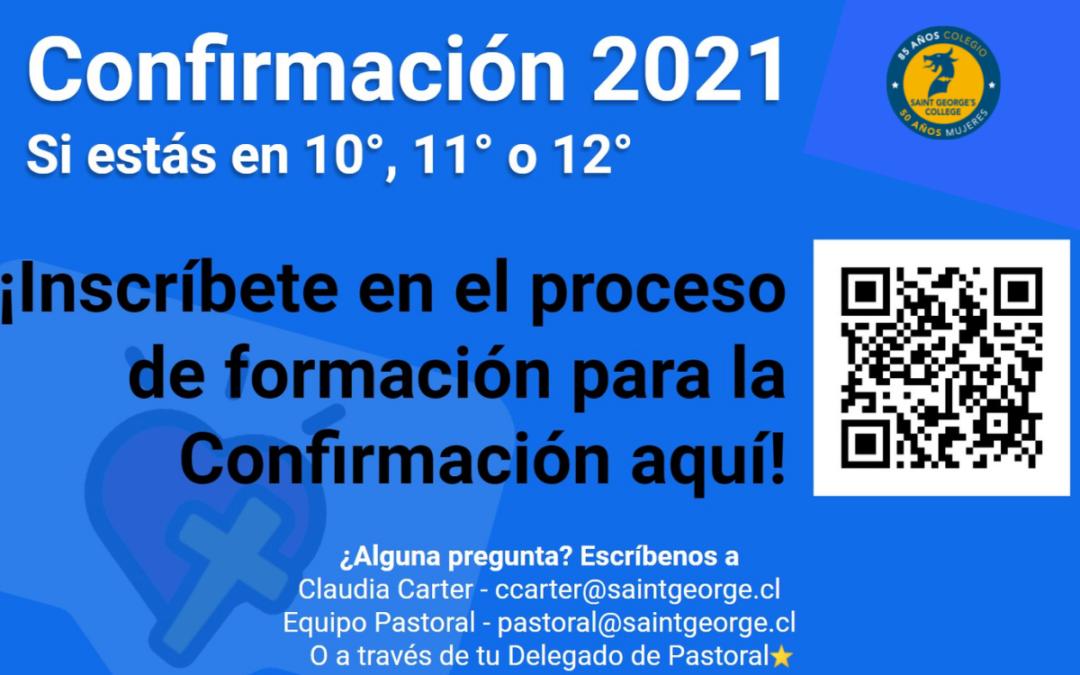 Proceso de Confirmación 2021