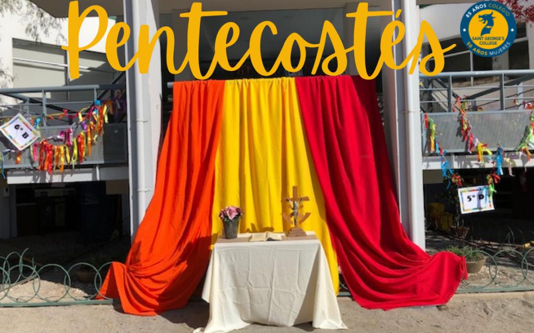 Celebración de la Fiesta de Pentecostés en el Colegio