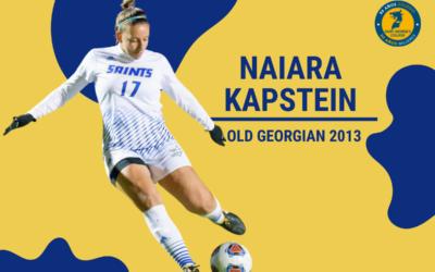 Nuestra Old Georgian Naiara Kapstein, es fichada por la Selección Nacional de Fútbol Femenino
